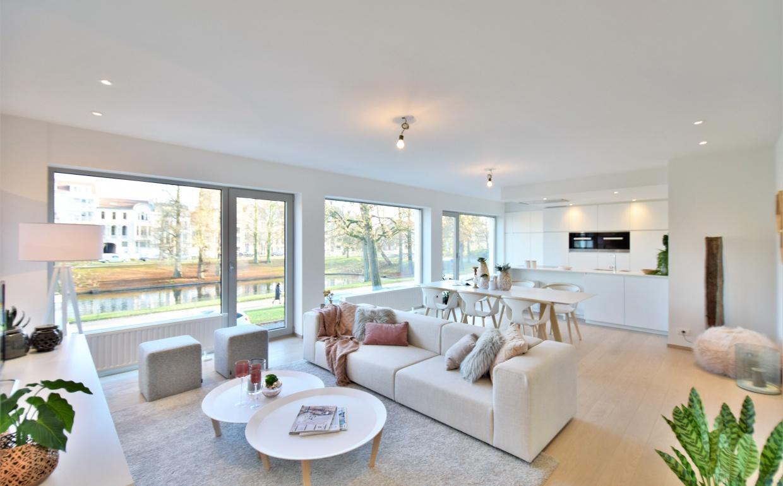 huur een interieur luxeappartement, design interieur, living divani, pedrali, softline dk, casa nova vastgoedstyling