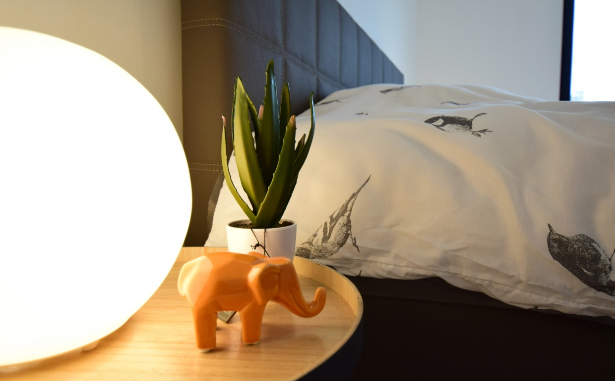 its all about the details, no pink elephants here, design slaapkamers