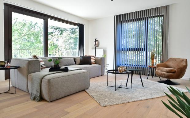 luxueus wonen, park hooghuys, cores development, appartementen inrichten
