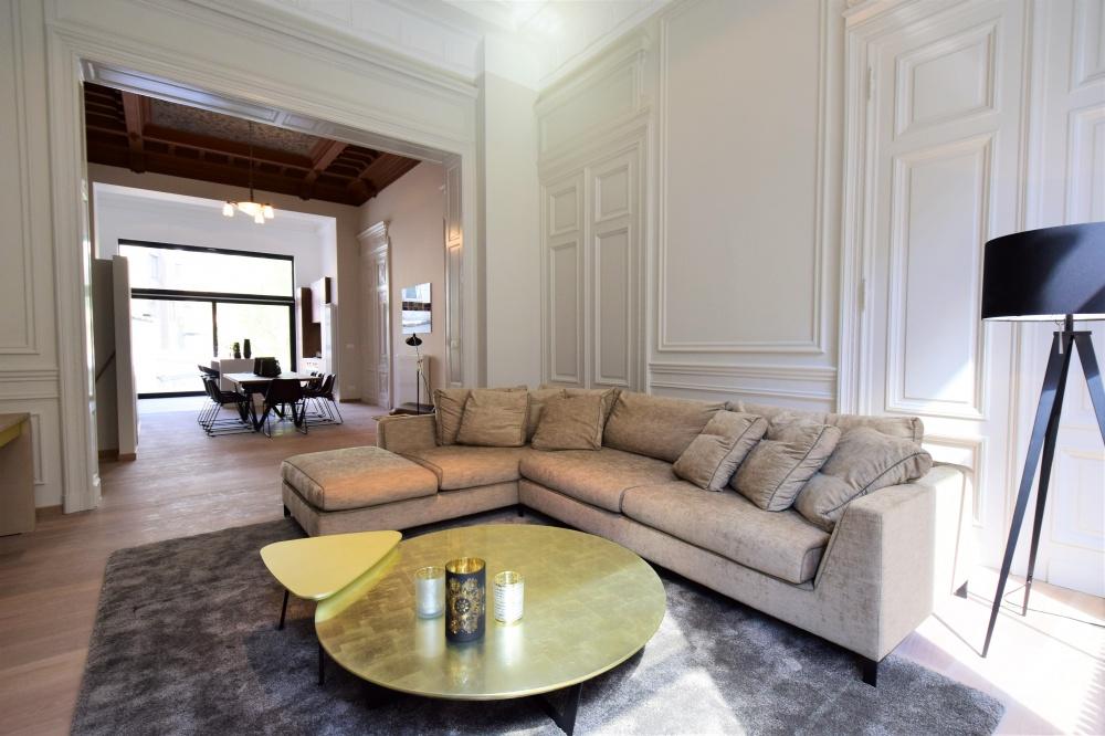 la concorde elsene, te koop brussel, ixelles for sale, sanpatrignano, gouden meubelen, golden furniture, Casanova vastgoedstyling, luxury real estate, real estate brussels, mansion for sale,